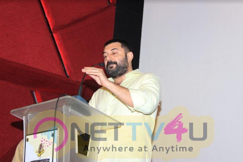Bhaskar Oru Rascal Movie Press Meet Stills