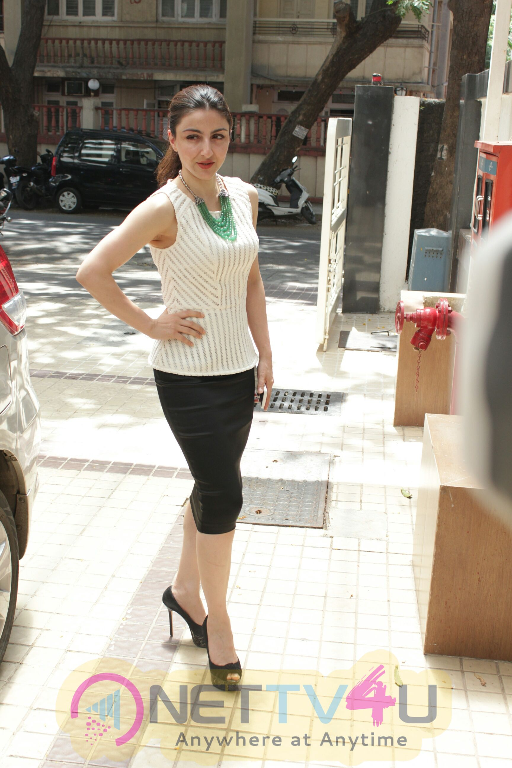 Soha Ali Khan Came To Inauguration Of New Horizons Child Development Centre In Hinduja Hospital