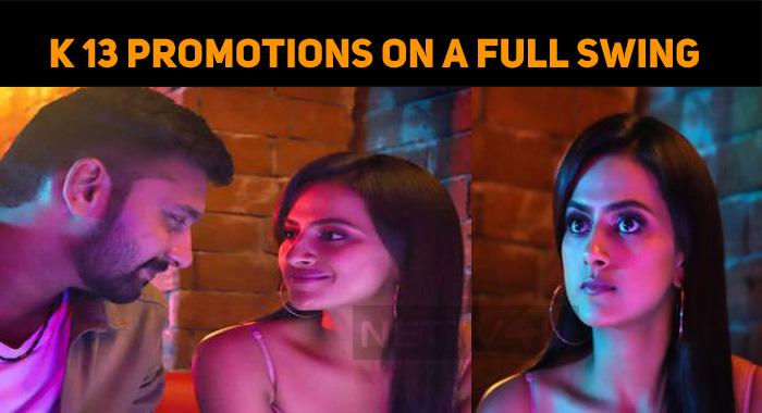 Arulnithi And Shraddha Srinath's K 13 Promotions On A Full Swing!