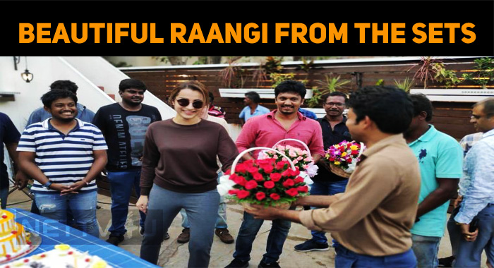 The Beautiful Raangi From The Sets!