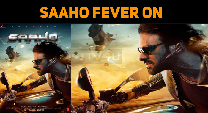 Saaho Fever Starts! Promotions Are On!