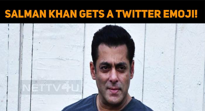 Salman Khan Gets A Twitter Emoji!