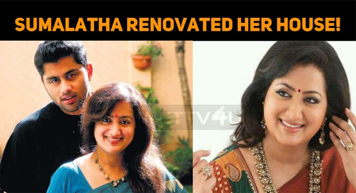 Sumalatha And Abhishek To Move To Their Renovated House!
