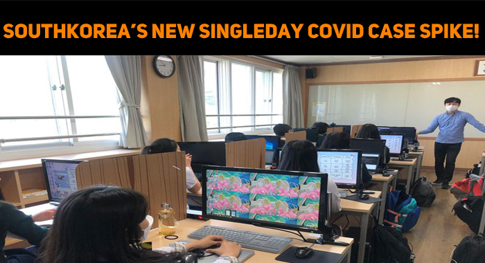 South Korea Records A New Single Day Coronaviru..