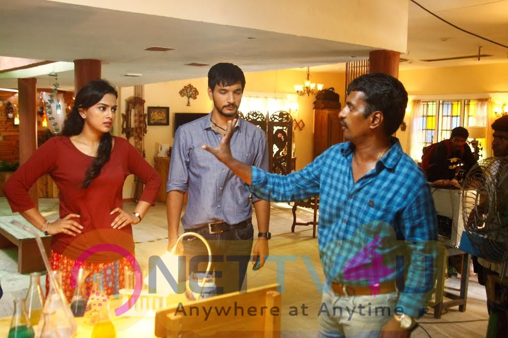 Ivan Thanthiran Movie Excellent Shooting Spot Stills