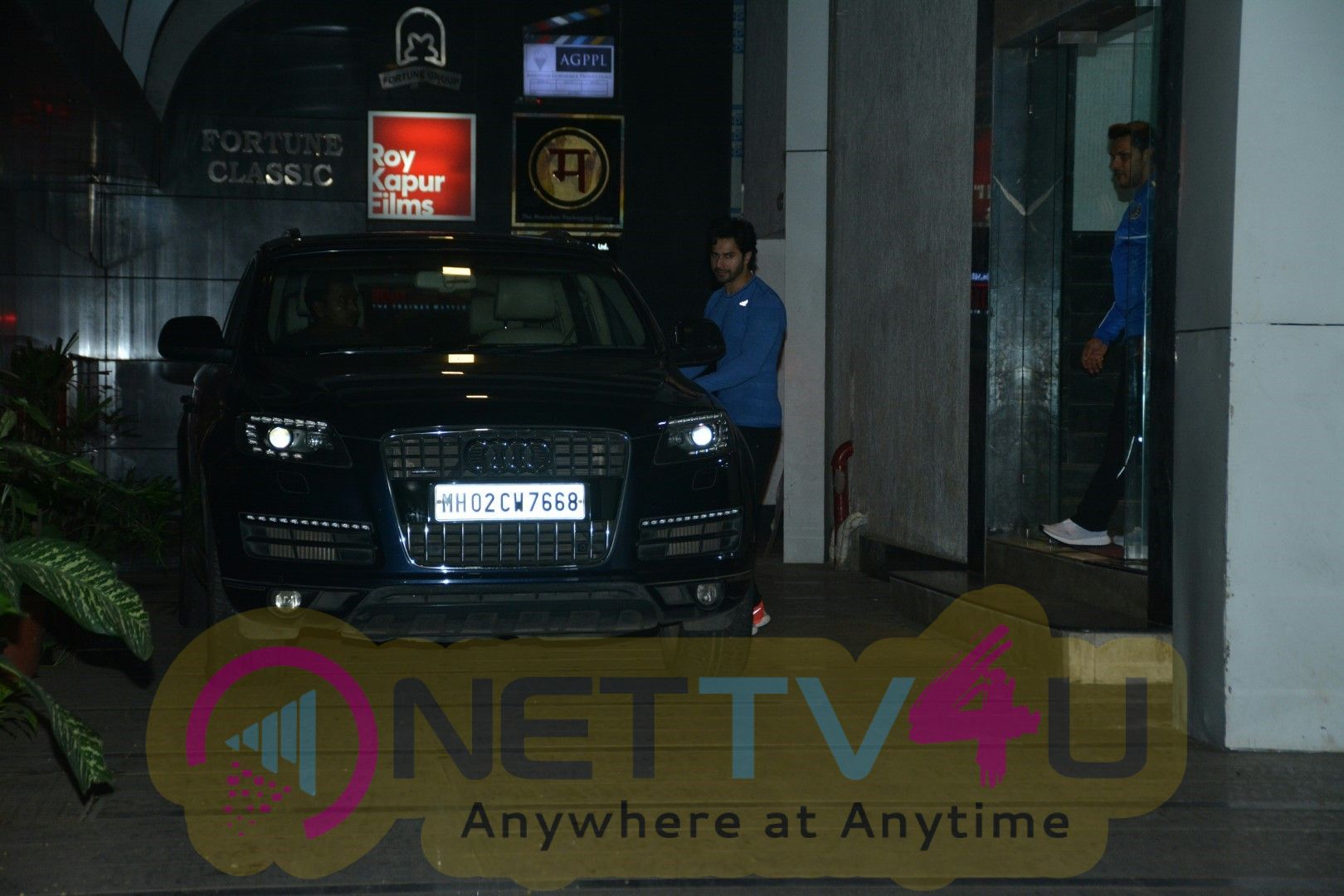 Actor Varun Dhawan Spotted At Gym Bandra Best Images