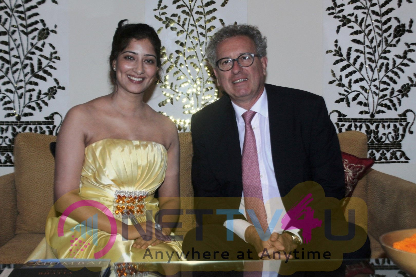 Bollywood Actress Niharica Raizada Spotted With Pierre Gramegna Finance Minister Of Luxembourg Stunning Images