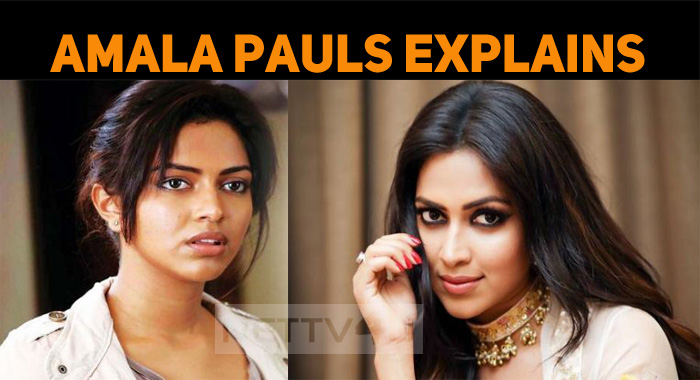 Amala Paul Staged The Reason Why She Is Out Of ..