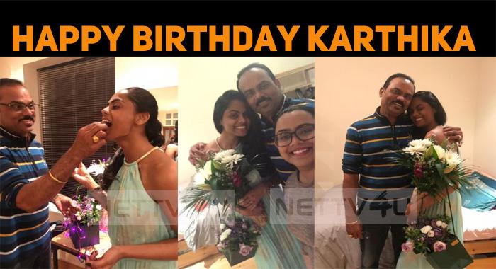 Happy Birthday Karthika, Daddy's Little Princess!
