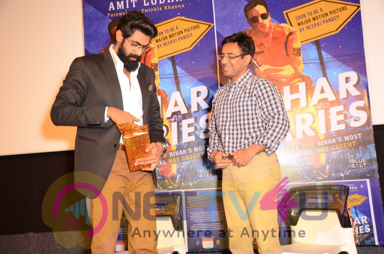 Rana Daggubati At Bihar Diaries Book Launch Event Images Telugu Gallery