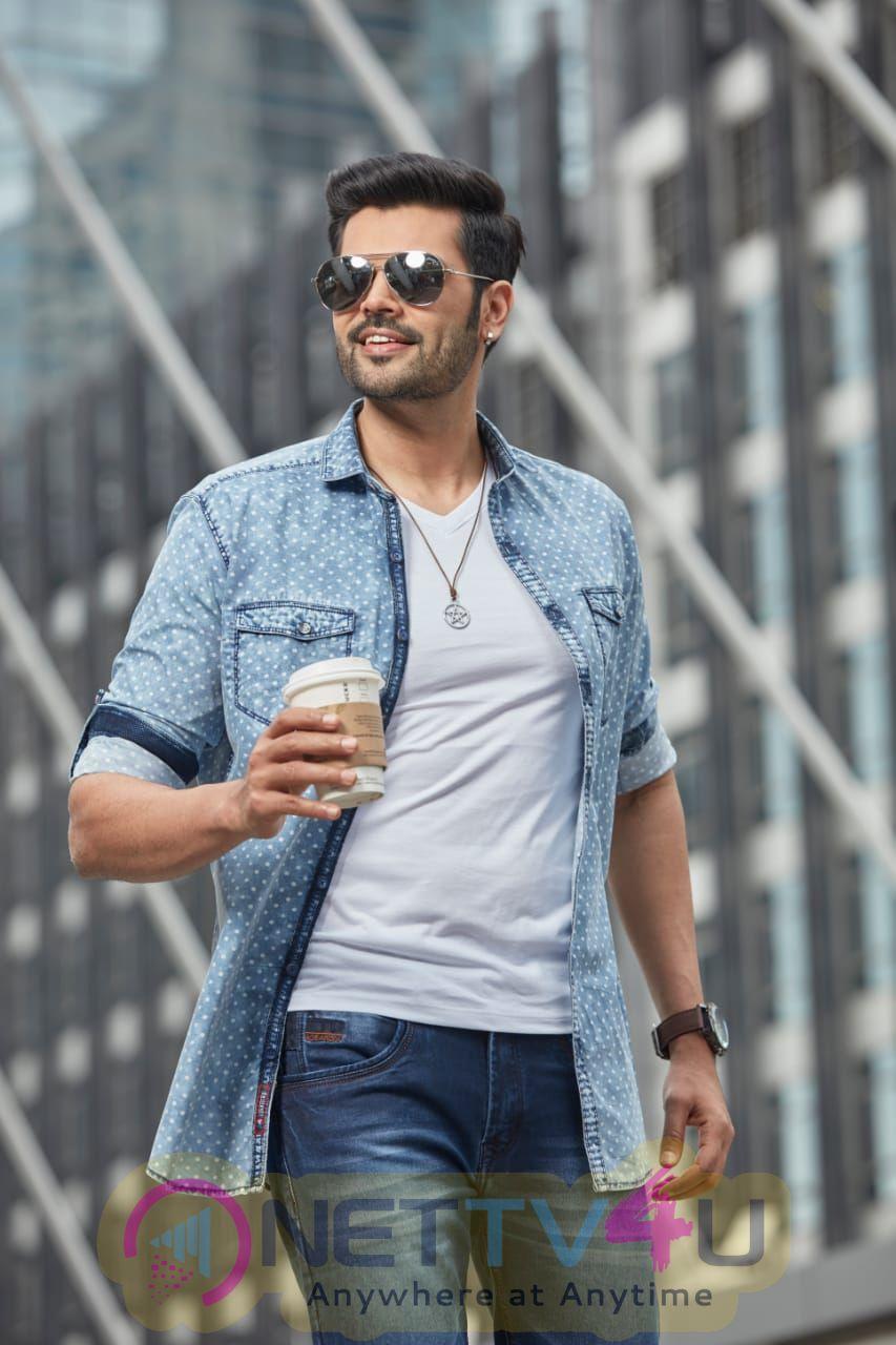 Actor Ganesh Venkatraman Handsome Images Tamil Gallery