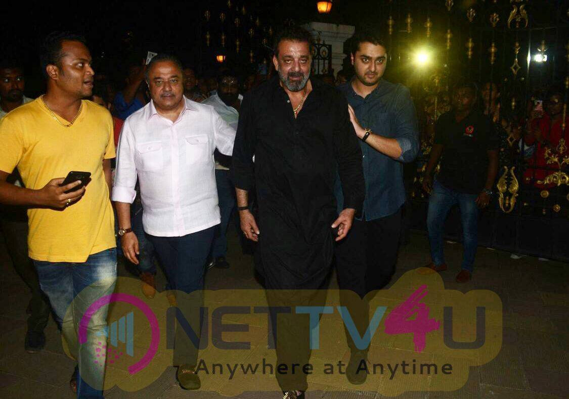 Sanjay Dutt Birthday Party In Our Home Photos Hindi Gallery