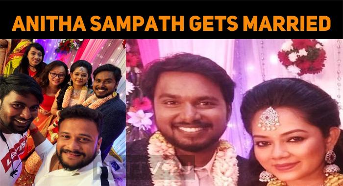 News Reader Anitha Sampath Gets Married!