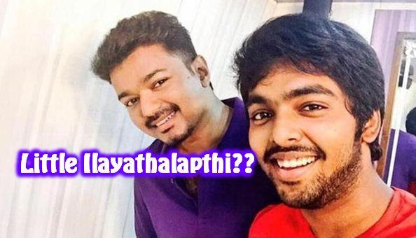 GV Prakash Gets The Epithet Of Vijay?
