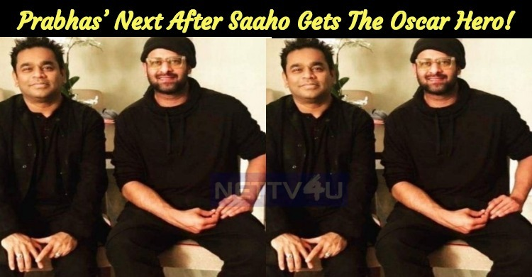 Prabhas' Next After Saaho Gets The Oscar Hero!