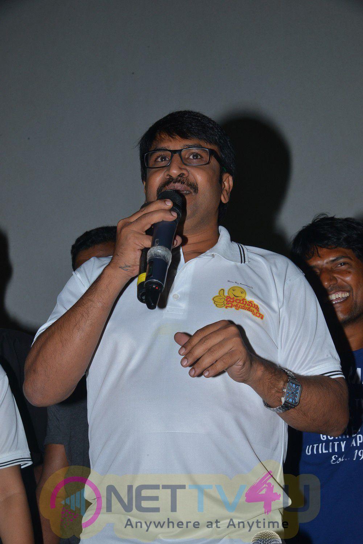 Jayammu Nischayammu Raa Movie Team At Satyam Theatre Cute Stills