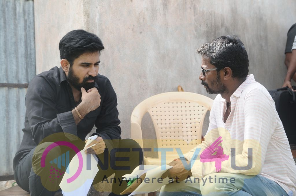 Annadurai Movie Working Images
