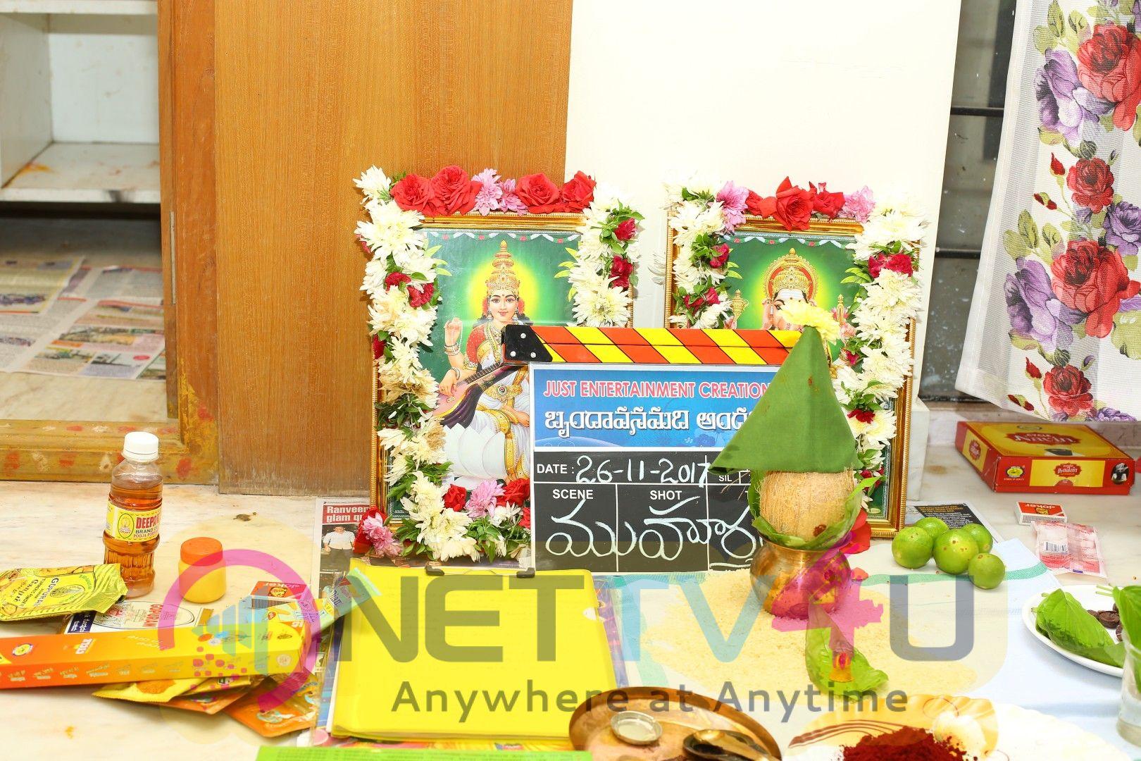 Brundavanamadi Andaridi Movie Pooja Stills