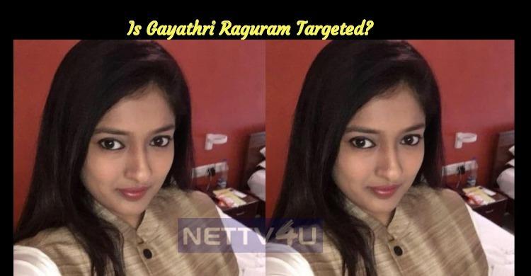 Is Gayathri Raguram Targeted?