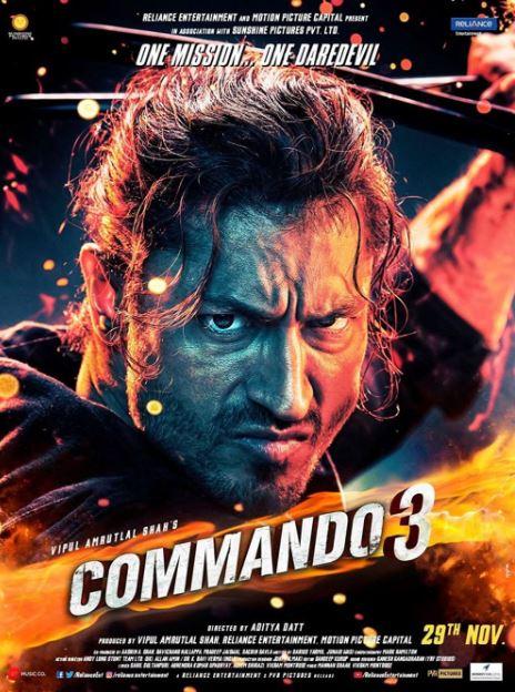 Commando 3 Movie Review
