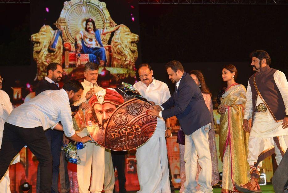 Gautamiputra Satakarni Audio Launched Successfu..