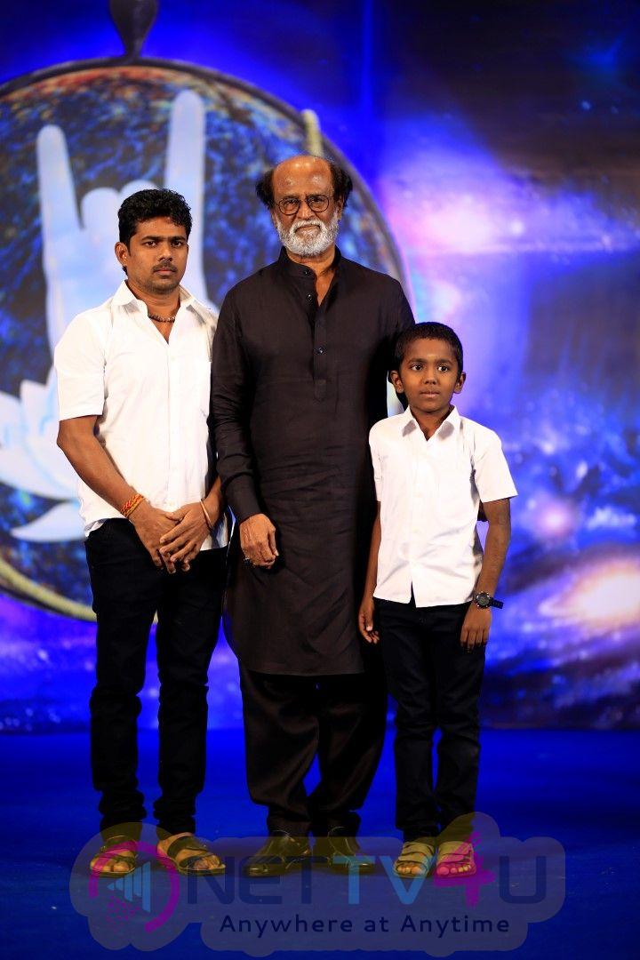 SuperStar Rajinikanth Fans Meet Day 2 Photos