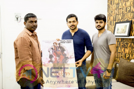 actor karthi launched lmetror movie  bhoomi  song sung by gana bala still images