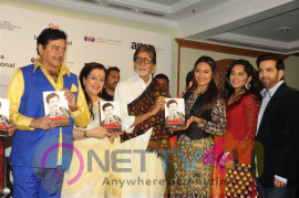 'Big B' Amitabh Bachchan Launches Shatrughan Sinha's Biography Anything But Khamosh Exclusive Images Hindi Gallery