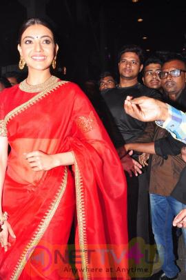 Kajal Images At Bramhotsavam Audio Launch