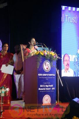 Nagi Reddi Award Function Charming Stills Tamil Gallery