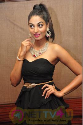Sharan Photoshoot In 9th UBM Jewellery, Pearl And Gem Fair Telugu Gallery