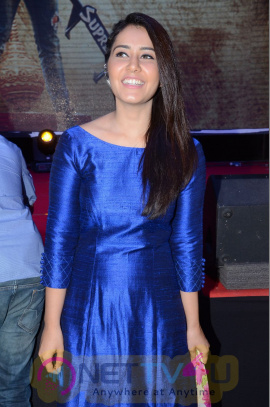 Actress Raashi Khanna At Supreme Success Meet Photos
