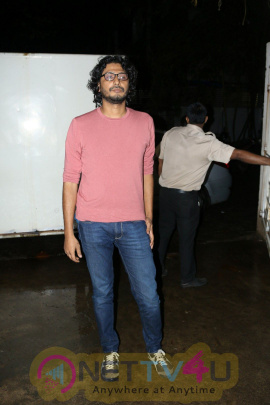 Abhishek Chaubey At Screening Of Film Queen Of Katwe Images Hindi Gallery