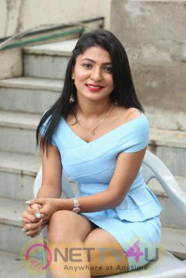 Ankita Jadhav Hot Images At Cottage Craft Mela 2016 Launch