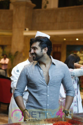 Arun Vijay At The Christmas Cake Mixing Ceremony Photos Tamil Gallery