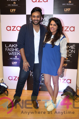 Aza Collection With Lakme Attractive Stills Hindi Gallery