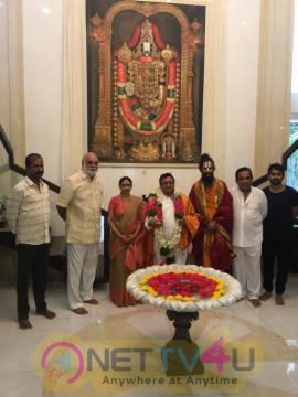Brahmanandam Felicitates Famous Artist BKS Varma Photos Telugu Gallery
