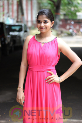 Gayathri Rema Lovely Stills At Oruthal Movie Press Meet  Tamil Gallery