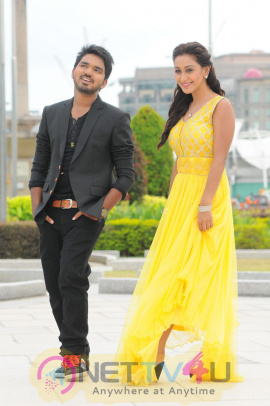 Vana Villu Telugu Movie Stylish Photos & Working Stills Telugu Gallery