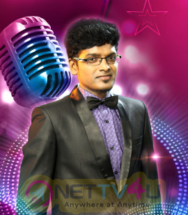 Vasanth Tv Top Star Singer Beauteous Photos Tamil Gallery