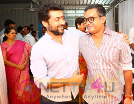 Suriya 36 New Movie Pooja Stills Tamil Gallery