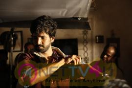 Actor Aadhi  Marakatamani Adventure And Ghost Movie Pics