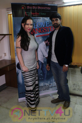 Poster Launch Of The Film Love Vs Gangster Stills Hindi Gallery