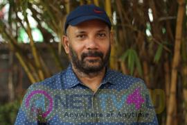 Director Chezhiyan Exclusive Interview Photos