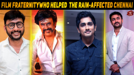 Film Fraternity Lends A Helping Hand To The Rain-affected Chennai