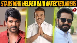 Kollywood Stars Extend Their Helping Hand To Rain-Affected Areas