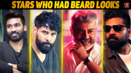Top 10 Kollywood Stars Who Had Beard Looks