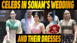 10 Celebs In Sonam's Wedding And Their Dresses