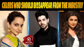 20 Bollywood Celebs Who Should Dissappear From The Industry