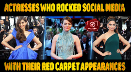 Top 10 Actresses Who Rocked Social Media With Their Red Carpet Appearances